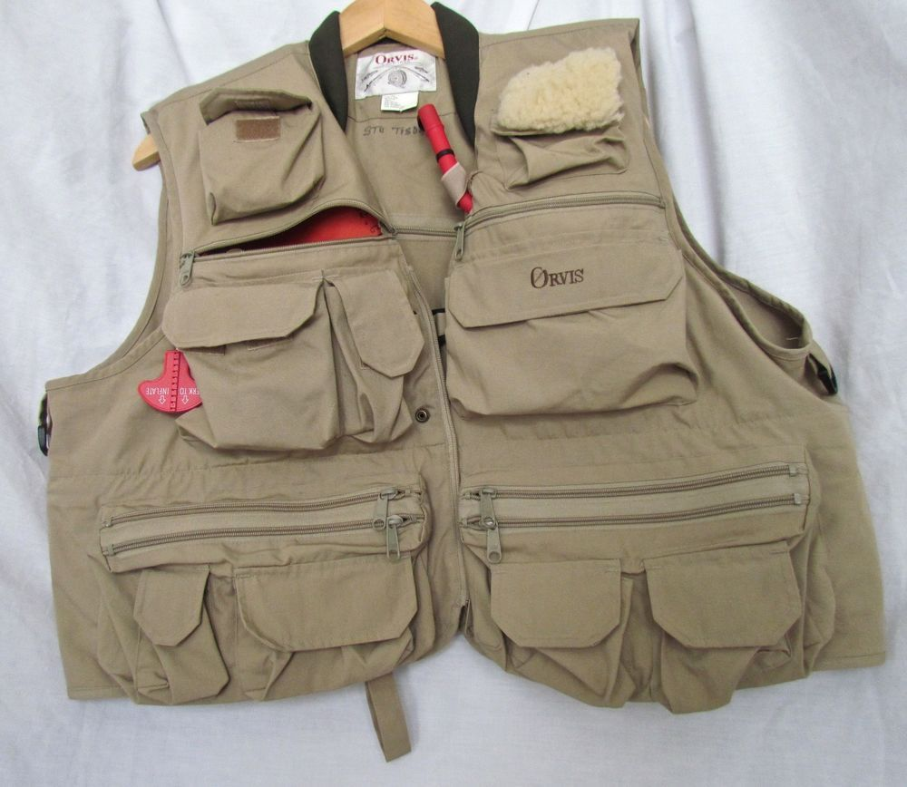 Orvis Co2 Inflatable Fly Fishing Vest Size Xl Pfd Fishing Vest Orvis Fly Fishing