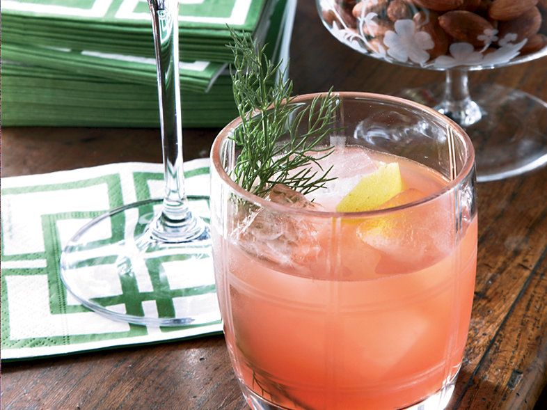 Campari-Fennel Aperitif   Pleasantly bitter, herb-infused Campari is a bracing aperitif, especially when it's blended with a little sparkling wine as it is here. Neal Bodenheim...