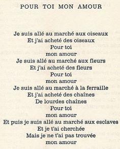 Jacques Prévert French Poems Poems Classic Poems