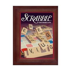 Library Scrabble Vintage Book Game