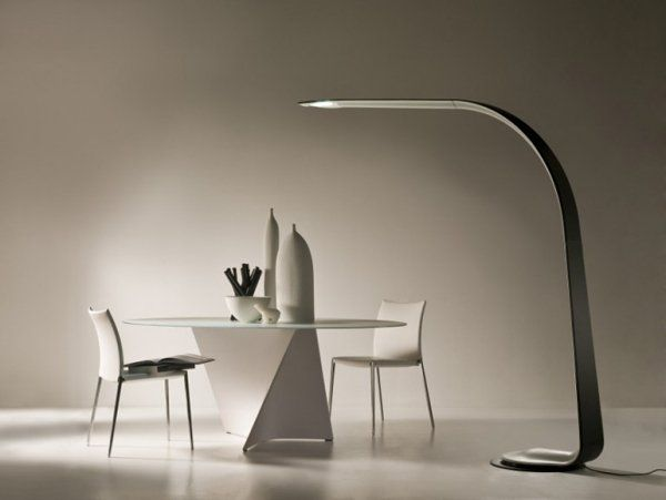 Futuristic Floor Lamp Design Modern Home Lighting Ideas Dining Room Lighting Contemporary Floor Lamps Contemporary Dining Room Lighting Lamp Design