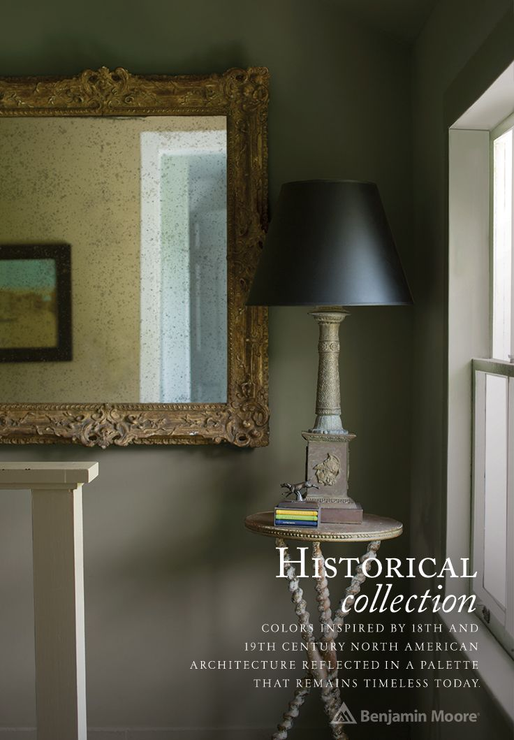 The Benjamin Moore Historical Collection Colors Inspired By 18th And 19th Century North American Architecture Reflected In A Palette That Remains Timeless