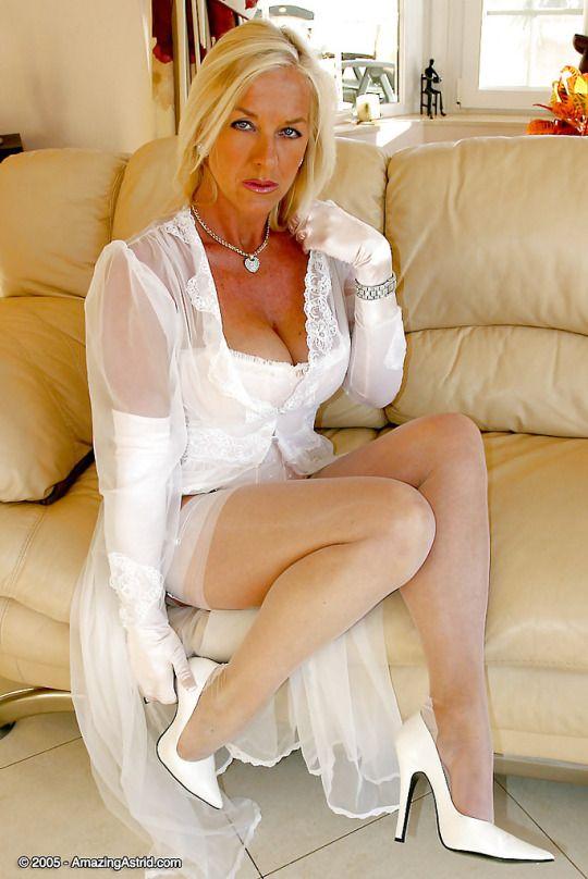 Mature Milfs Leggings Stocking Ladys