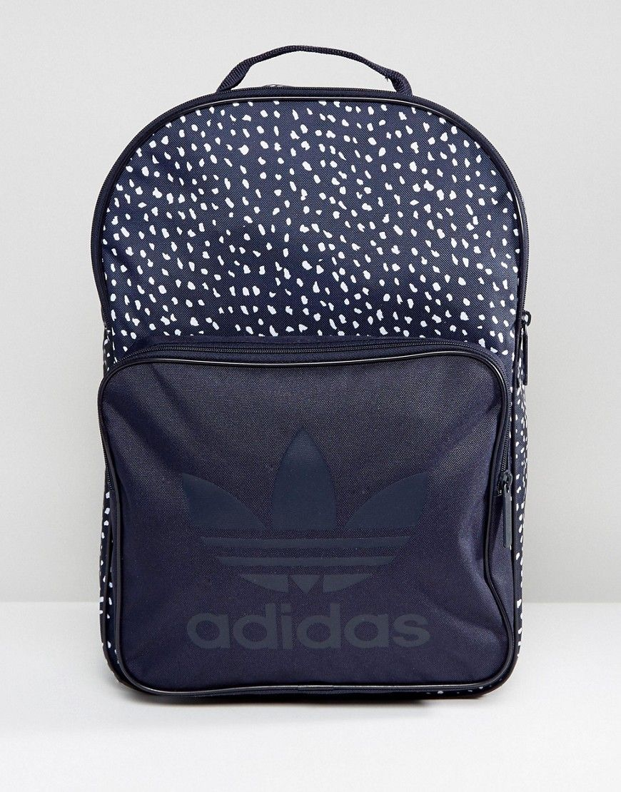adidas Originals Graphic Backpack In Blue AB3889   Products ... 543238b734
