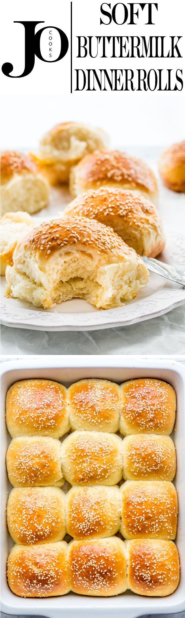 Buttermilk Rolls Dinner Rolls Recipes Food