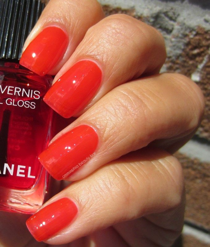 Chanel Le Rouge Collection N 1 Fall 2016 Nails Chanel Nail Polish Chanel Nails Nail Polish