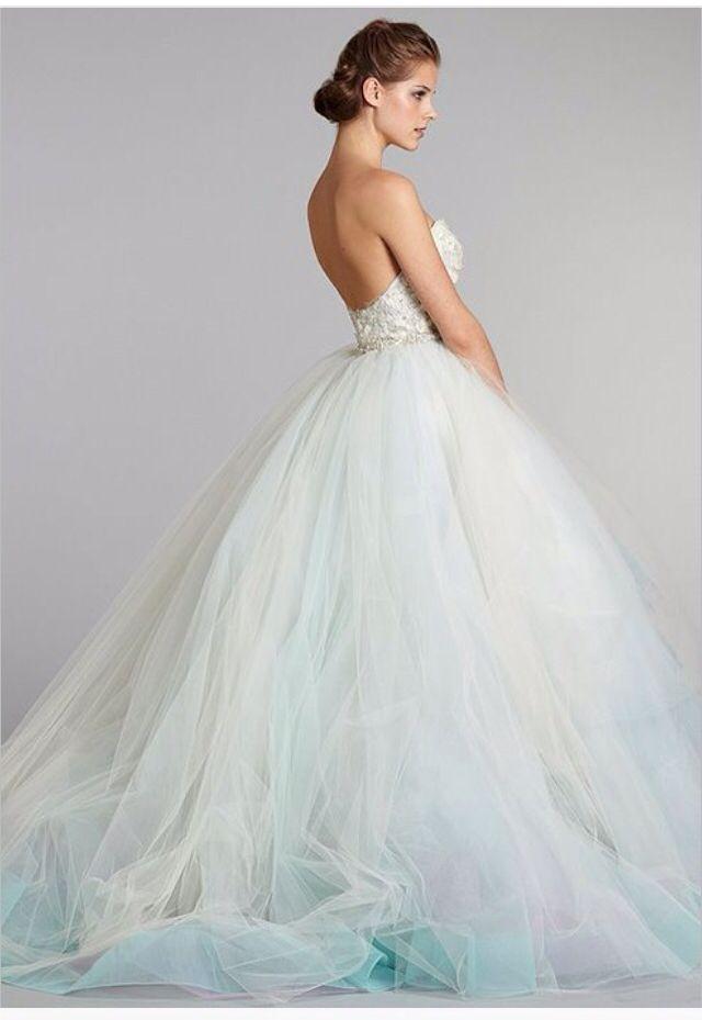 Love hint of mint in it | Wedding | Pinterest | Hochzeitskleider ...