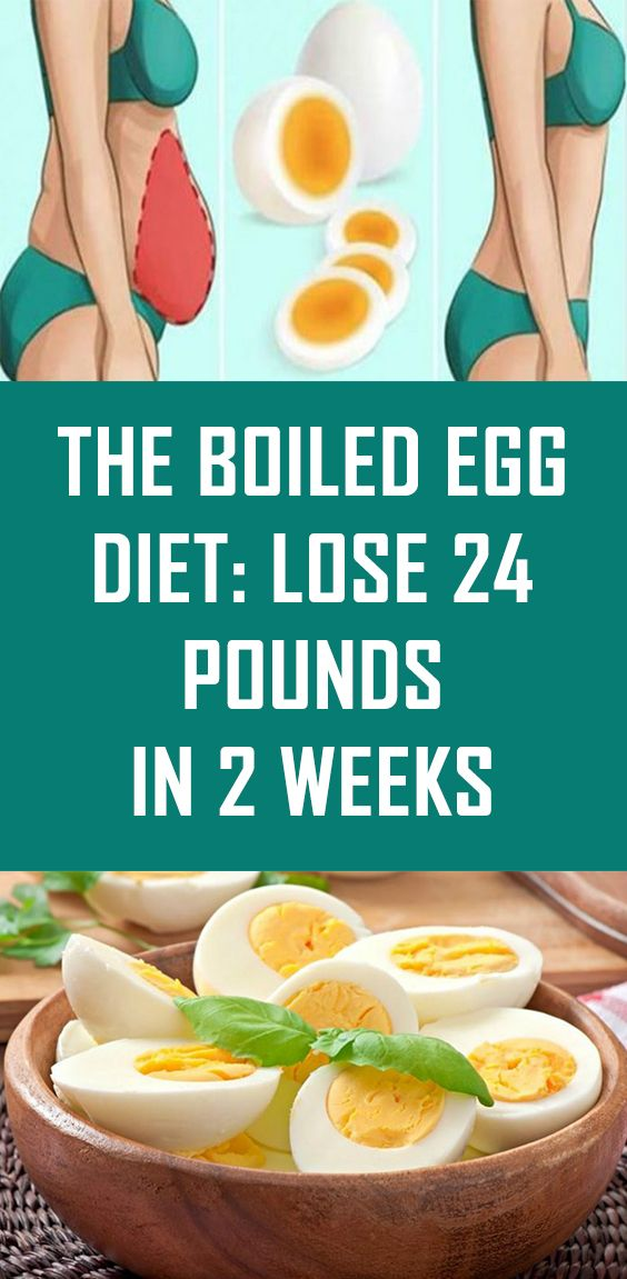 The Boiled Egg Diet: Lose 24 Pounds in 2 Weeks (With ...