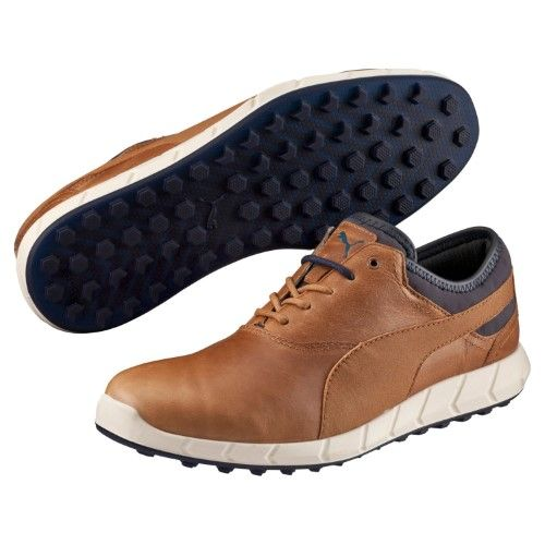 Puma Men S Ignite Golf Spikeless Chipmunk Peacoat Golf Shoe 10 5 Men Us Blue Spikeless Golf Shoes Golf Shoes Shoes