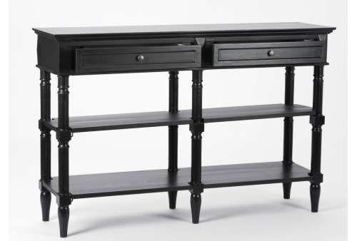 console drapier noire classique salle de bain salle de. Black Bedroom Furniture Sets. Home Design Ideas