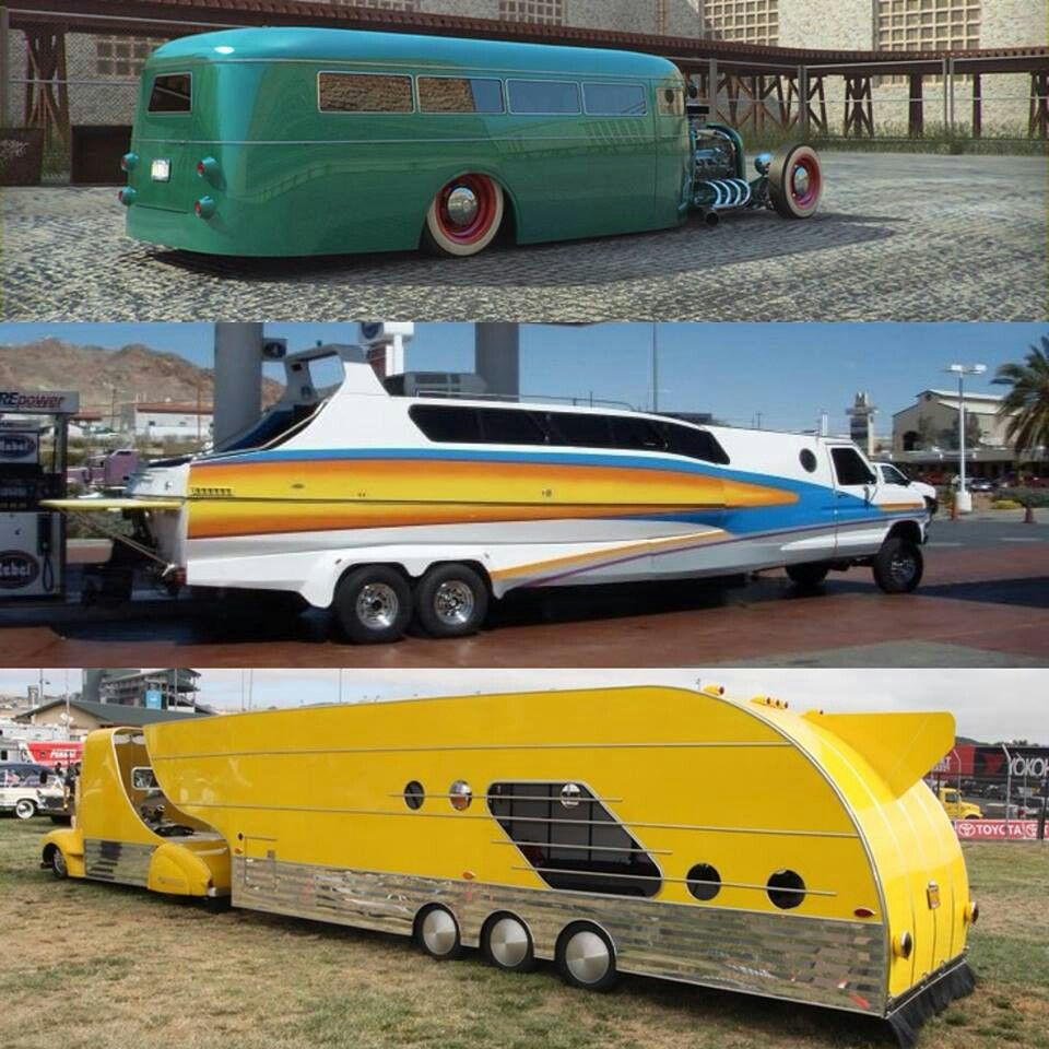 The Top One Is Very Cool Looks Like An Old Travel Trailer Turned Into A Rat Rod Rv