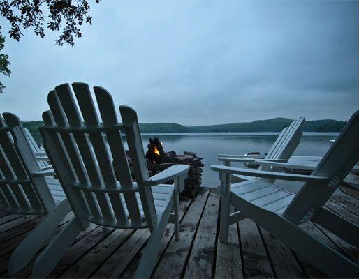 A shot of Eagle Lake