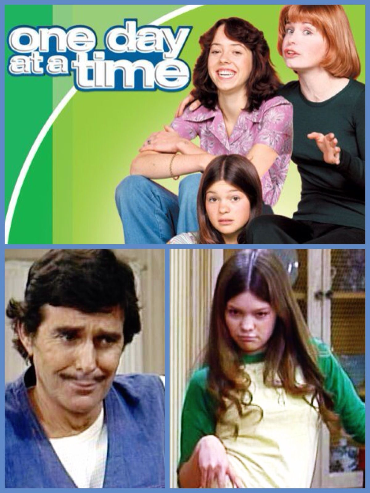 One Day At A Time 1975 1984 Starring Bonnie Franklin As Ann Romano A Divorced Mother Who Moves To Marion County Family Tv 70s Tv Shows Valerie Bertinelli