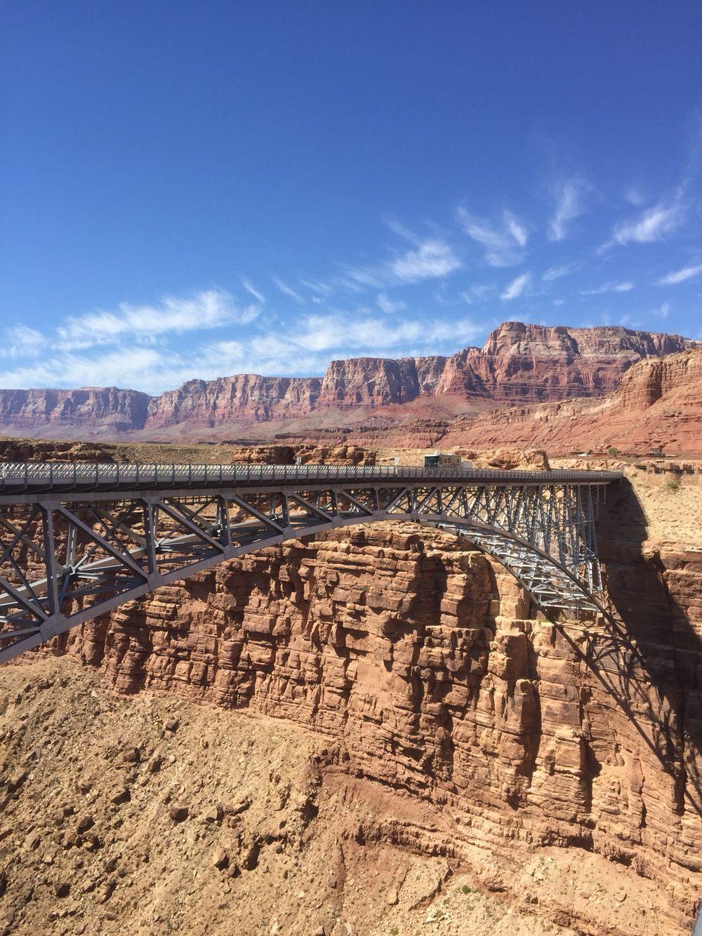 Navajo Bridge, USA   Let's Go Somewhere in 2019   Arizona