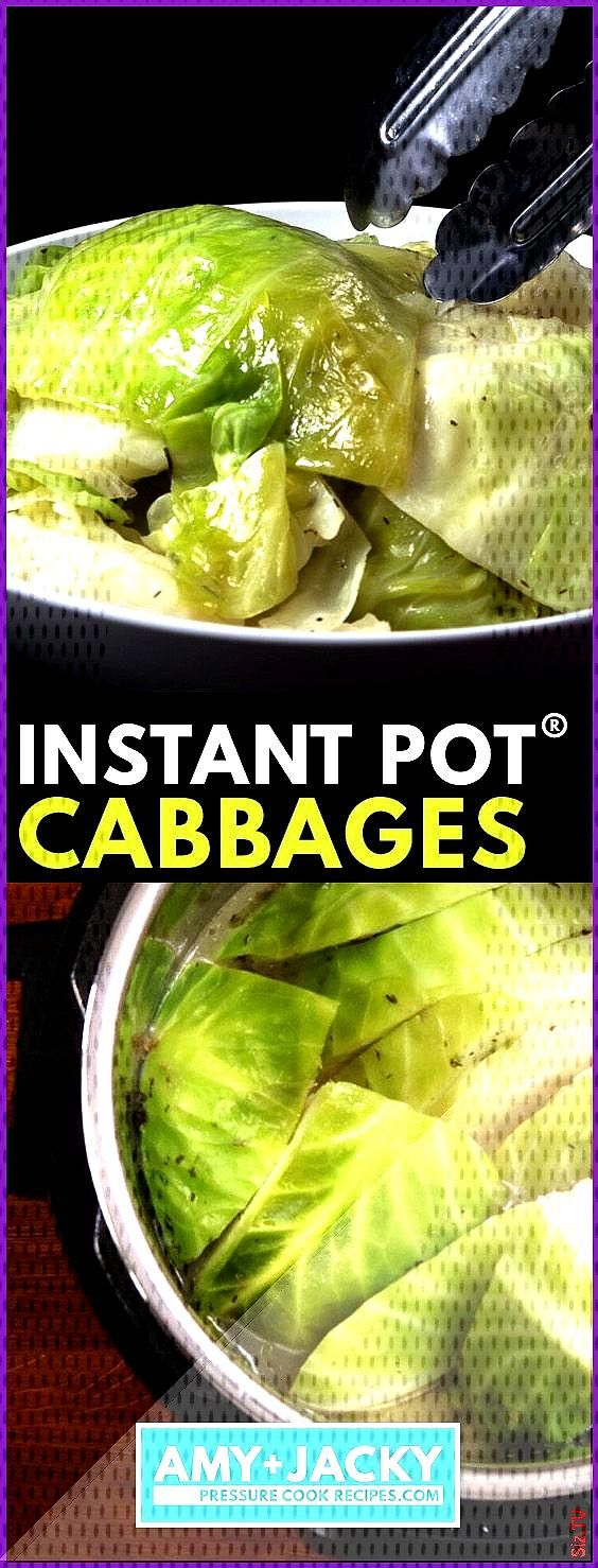 Instant Pot Butter Garlic Cabbages  Tested by Amy  Jacky Instant Pot Butter Garlic Cabbages  Tested