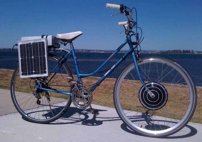 Solar Powered Electric Bikes Solar Solar Power Electric Bicycle