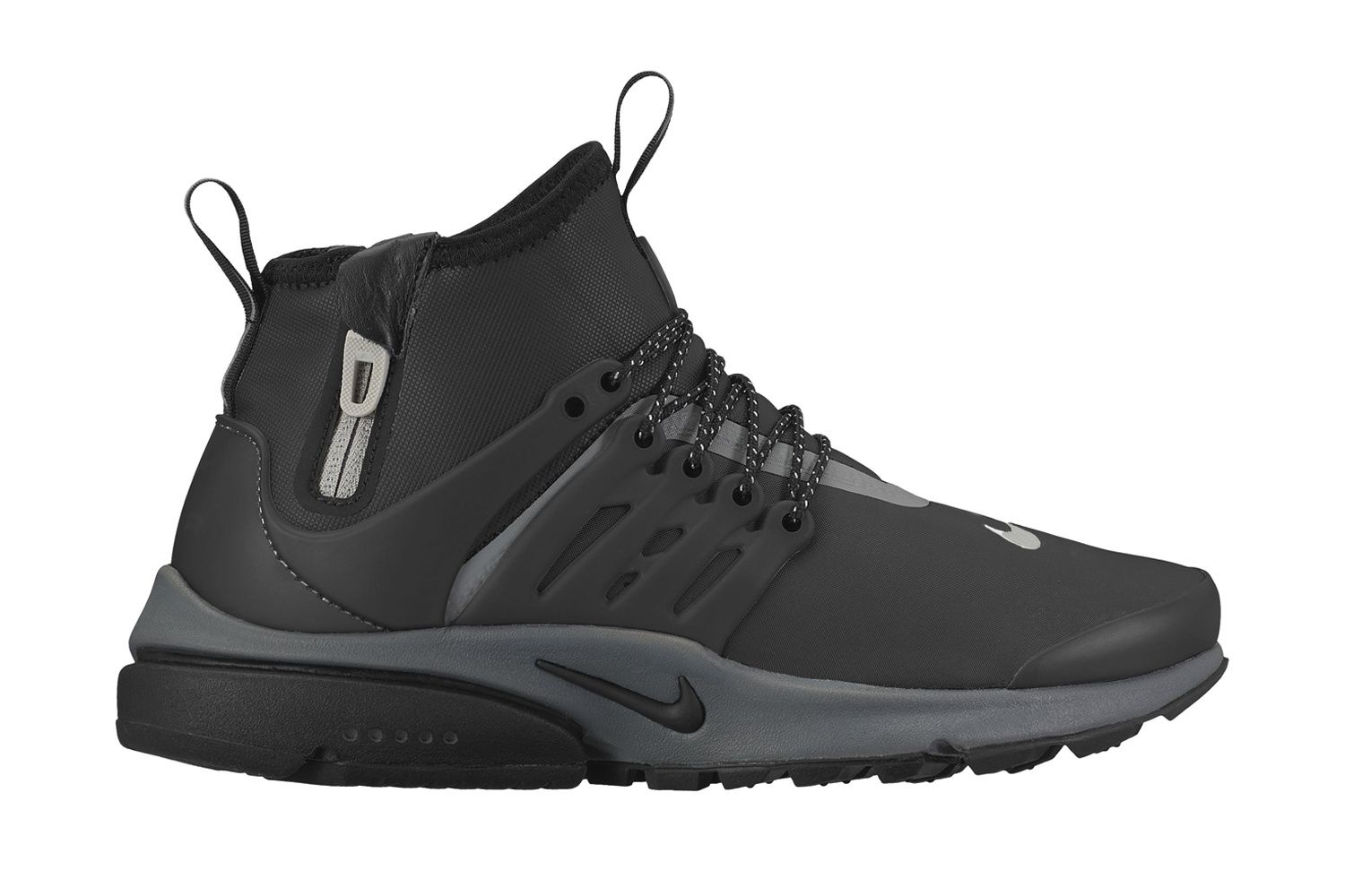A First Look At The Nike Air Presto Mid Utility With Images Nike Air Presto Sneaker Magazine Nike Air