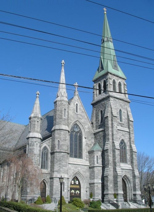 The Catholic Cathedral Of Saint Patrick Parish On Broadway In