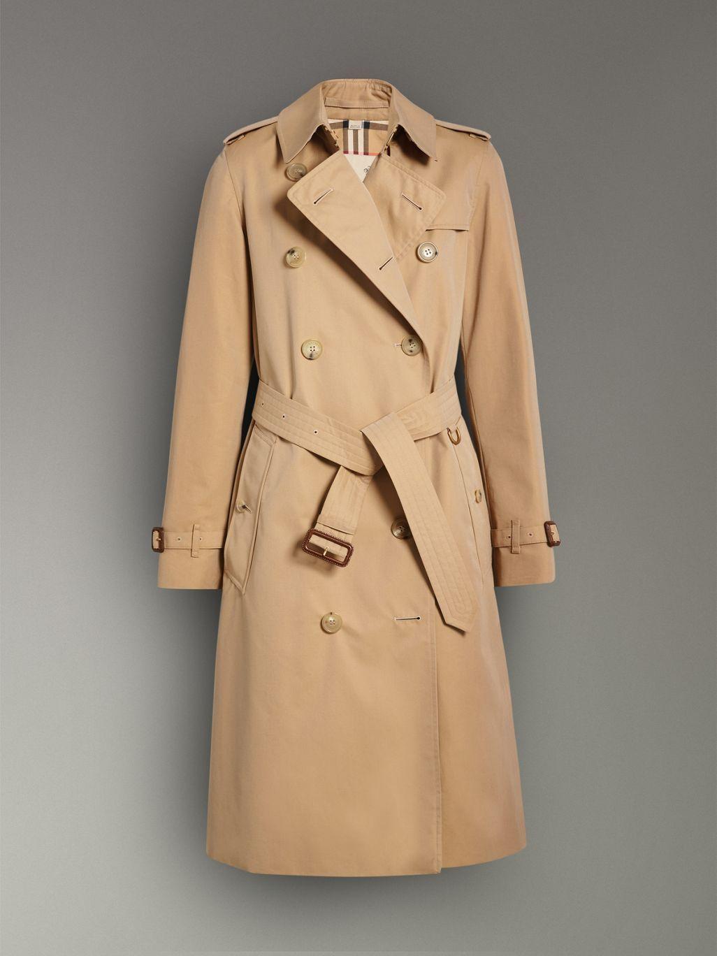 32b8c5a47 The Long Kensington Heritage Trench Coat in Mid Grey - Women ...
