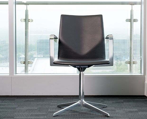 With excellent seating comfort and broad leather topped arms, FourCast XL is an elegant armchair for the meeting or boardroom. Fully upholstered, the FourCast XL is classically chosen in leather, but is available in a wide variety of fabrics.