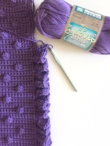 Polka Dot Blanket | Puntadas y Tejido