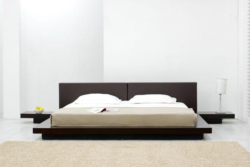 Platform Bed Asian Inspired Japanese Style Platform Bed