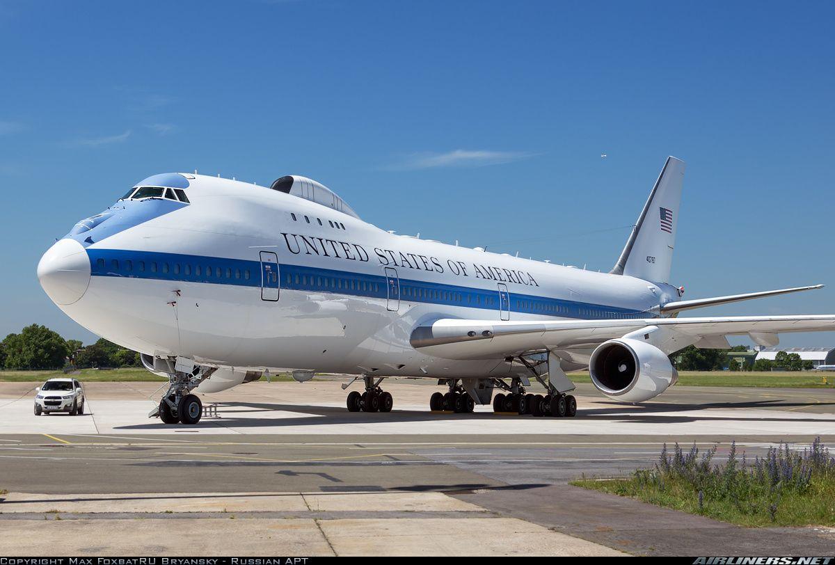 Boeing E-4B (747-200B) - USA - Air Force | Aviation Photo #2733730 Paris - Le Bourget (LBG / LFPB) France - June 6. 2014