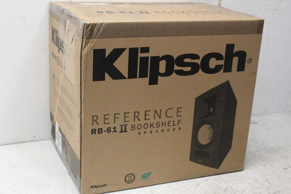 Klipsch Reference RB 61 II Bookshelf Black Speakers