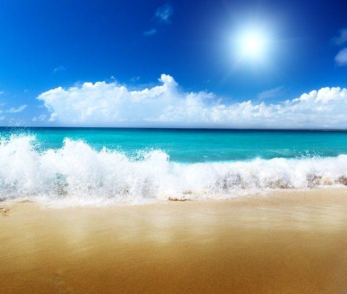 Wellen als Wolken