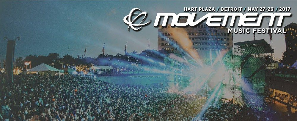 Movement 2017 Schedule Stages Set Times Detroit Electronic