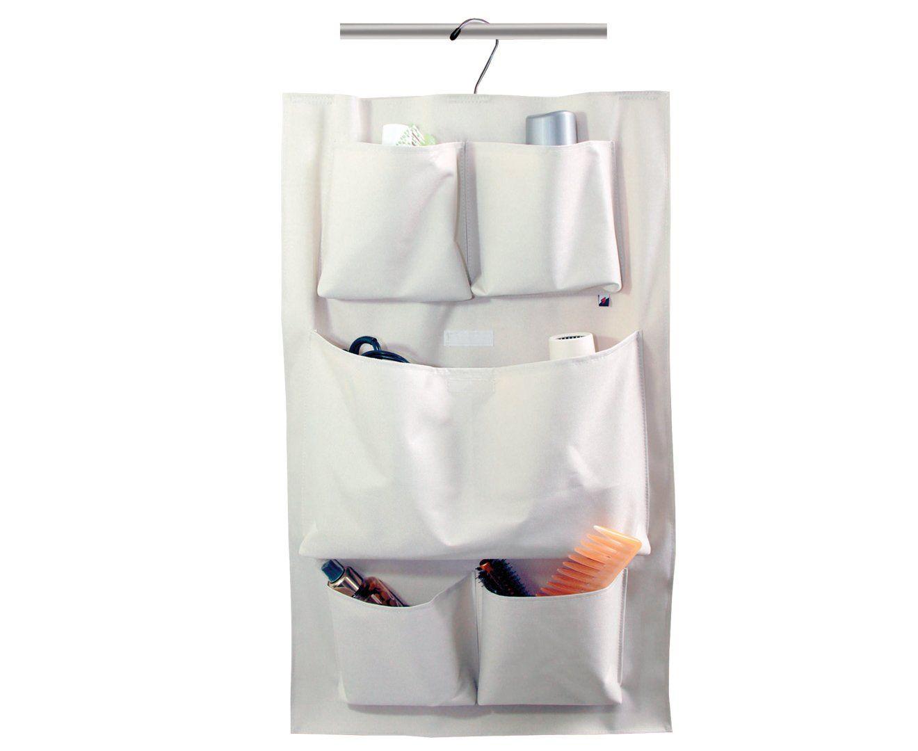 Cabide organizador com 5 bolsos banheiro organizadores - Organizador de carteras ...