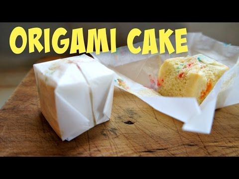 How To Make Birthday Cake Out Of Paper | Paper Cake Tutorial - YouTube | 360x480