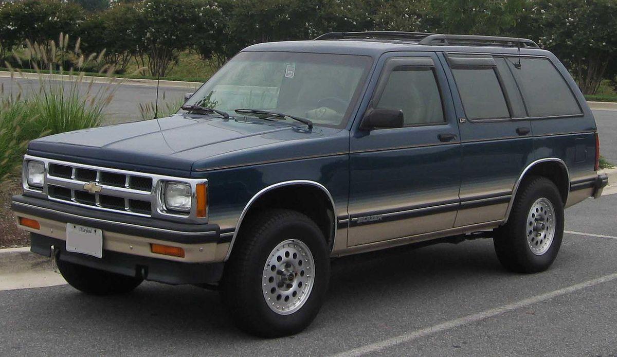 Chevrolet S10 Blazer Wikipedia Di 2020