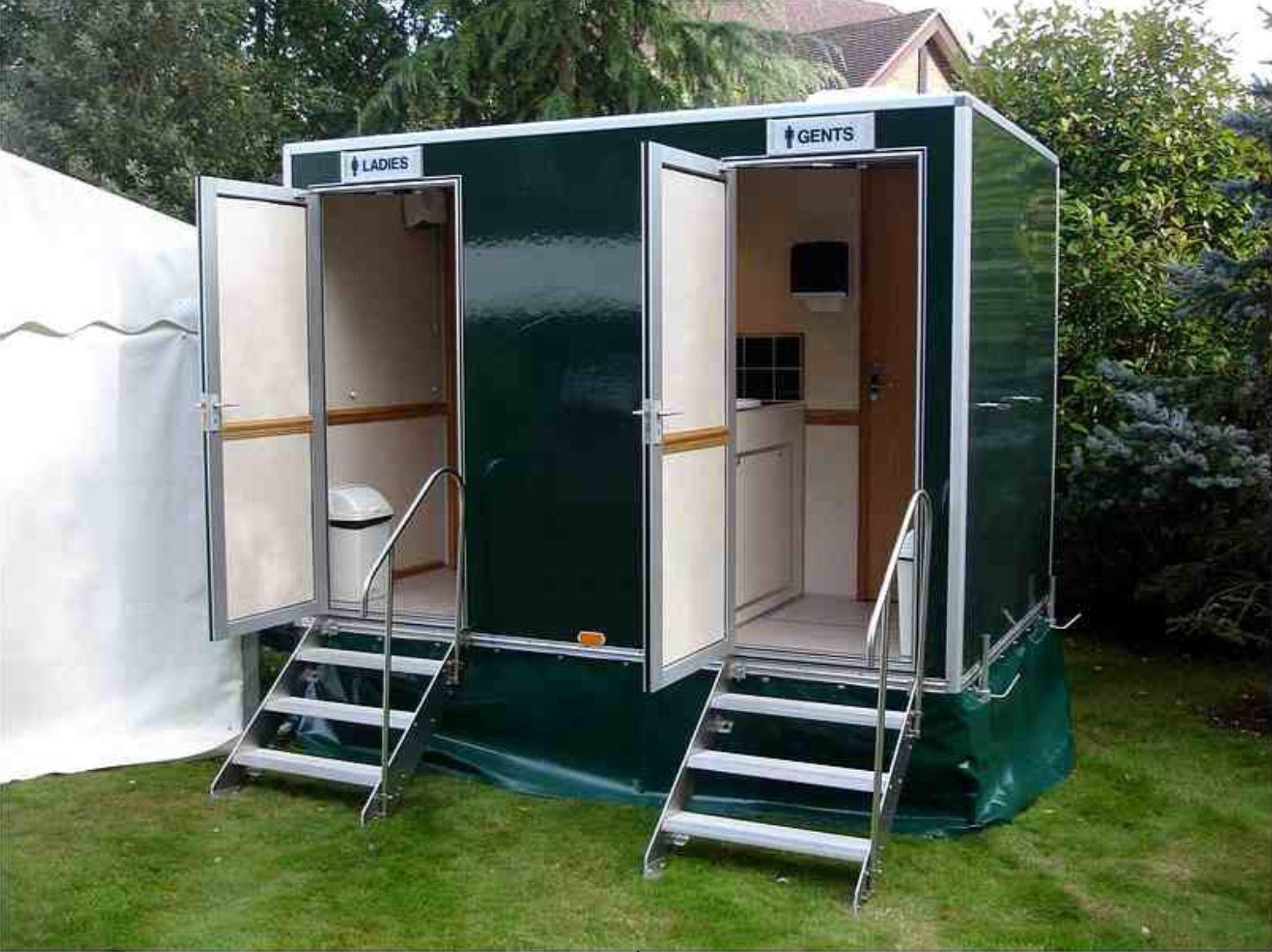Porta potty for an outdoor wedding Portable toilet