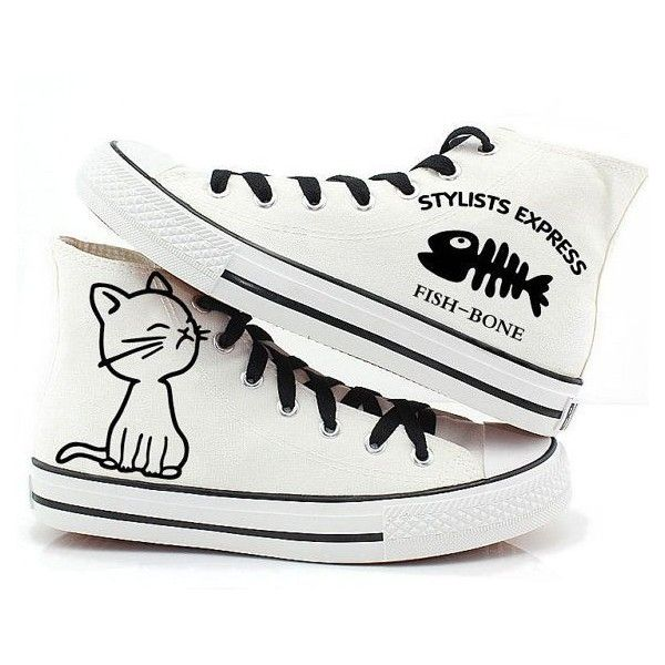 NEW Anime Fairy Tail  Cosplay Casual Sneakers Canvas Shoes Unisex Q.17