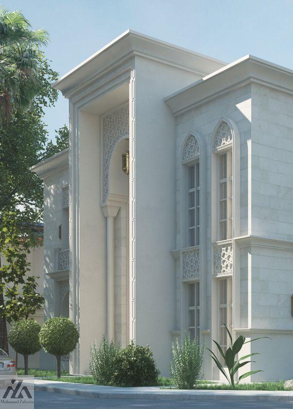 Arabic Villa Modern House Design Classic House Design House Outside Design