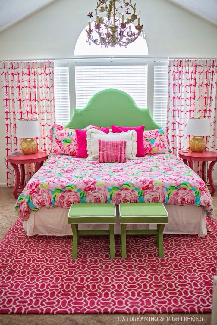 The Perfect Preppy Bedroom To Sleep In