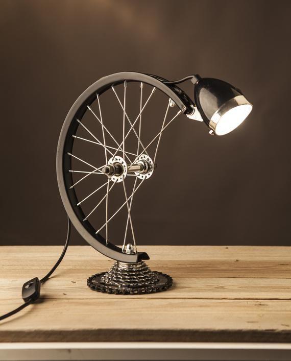 Photo of Table lamp-Desk lamp-Rustic home decor-Gift for men-Home decor-Desk accessories-Industrial lightingDesk lampVintage desk lamp