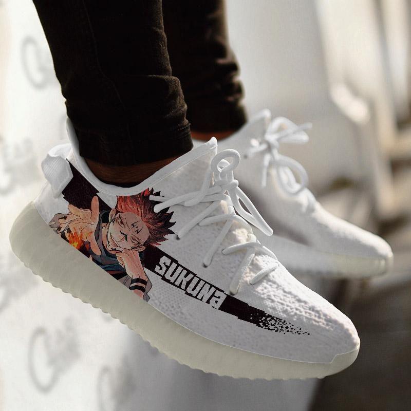 Best Seller Jujutsu Kaisen Shoes Sukuna Custom Designed Yeezy Shoes In 2021 Yeezy Shoes Yeezy Shoes