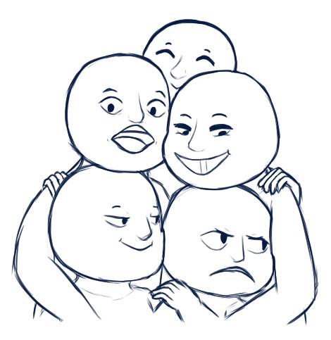 Smash Chu Draw The Squad Drawing Base Drawing Meme