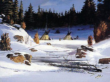 [Waniyetu Wí – Winter Moon] This month the cold breezes come and the first flakes of snow appear. Akta Lakota Museum (@aktalakota1) on Twitter