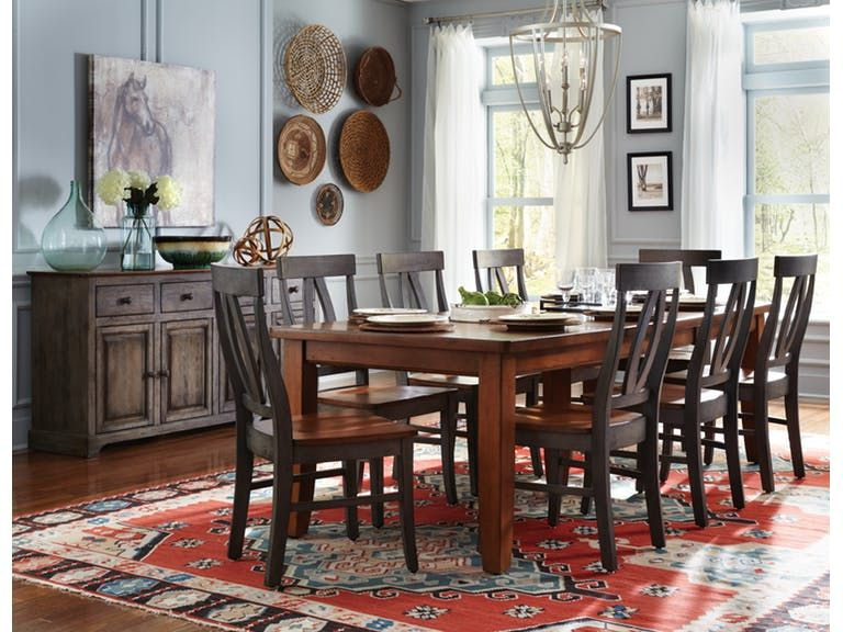 John Thomas Farmhouse Table T4066Xxttc170B  Dream Furniture Amusing Farmhouse Dining Room Table For Sale 2018