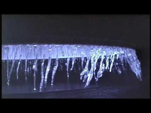 Cryogenic Rocket Engine Forms Icicles