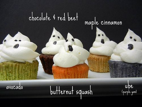 halloween fall cupcakes