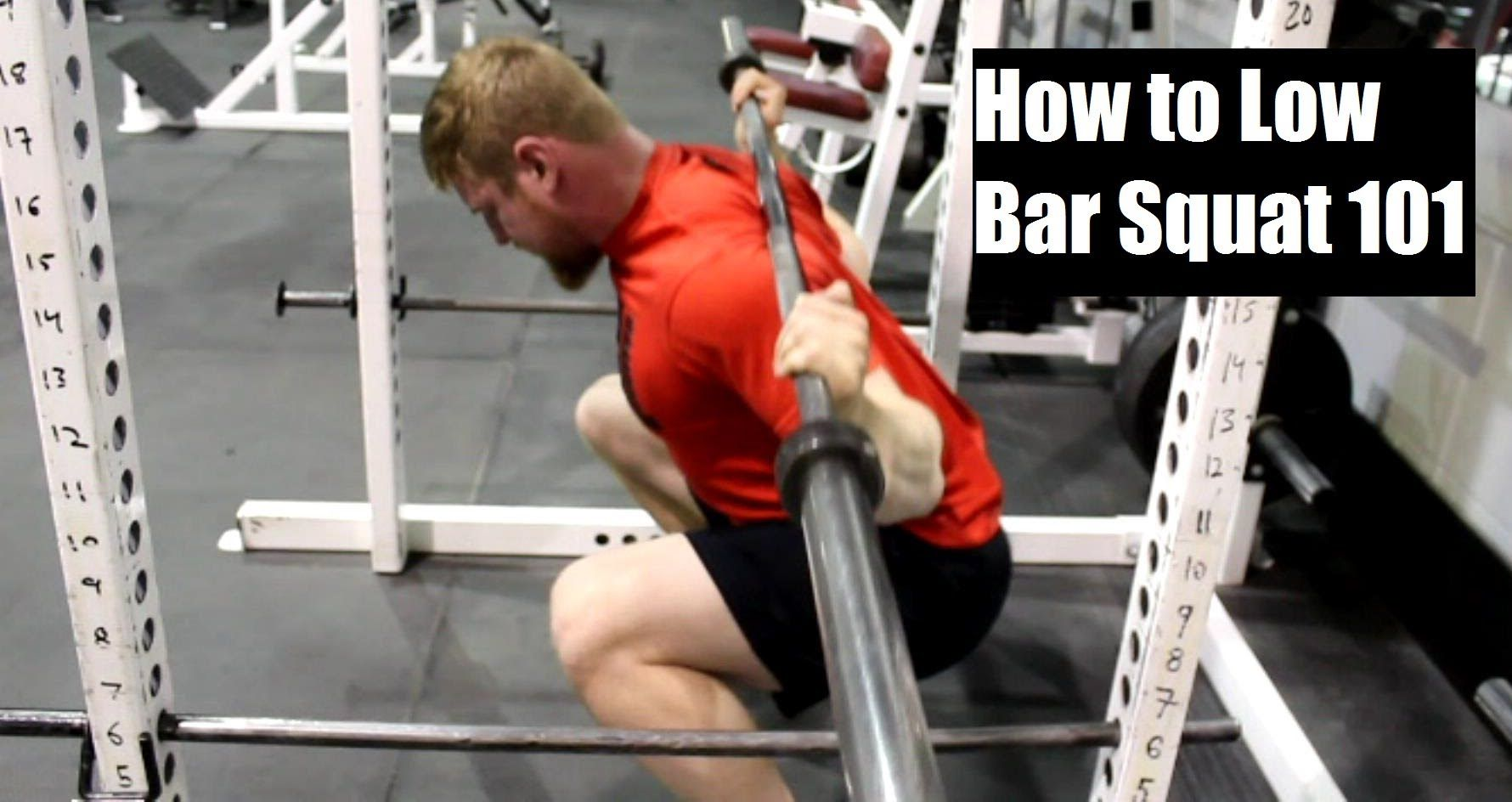 How To Low Bar Squat Correctly Proper Form For Building