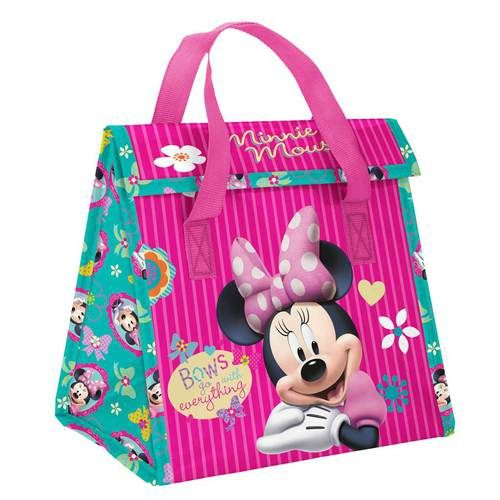 Cooler Lunch Bag Disney Minnie Mouse Insulated Snack School Bag Pink Unicorn