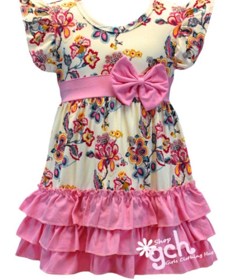 d200af63084a Pink Floral Spring Easter Dress girl s size 4 5 6 7 8 10 12 14 16 gch   Unbranded  Dress  EasterDressyEverydayHolidayPageantPartyPromWedding