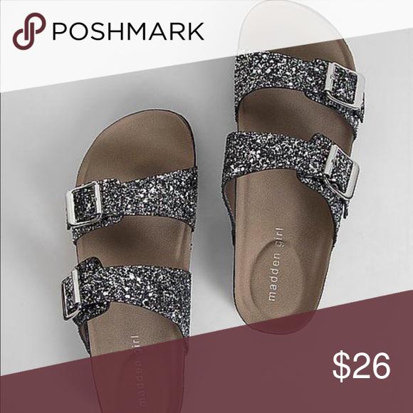 Madden Girl Birkenstock Style Sandals