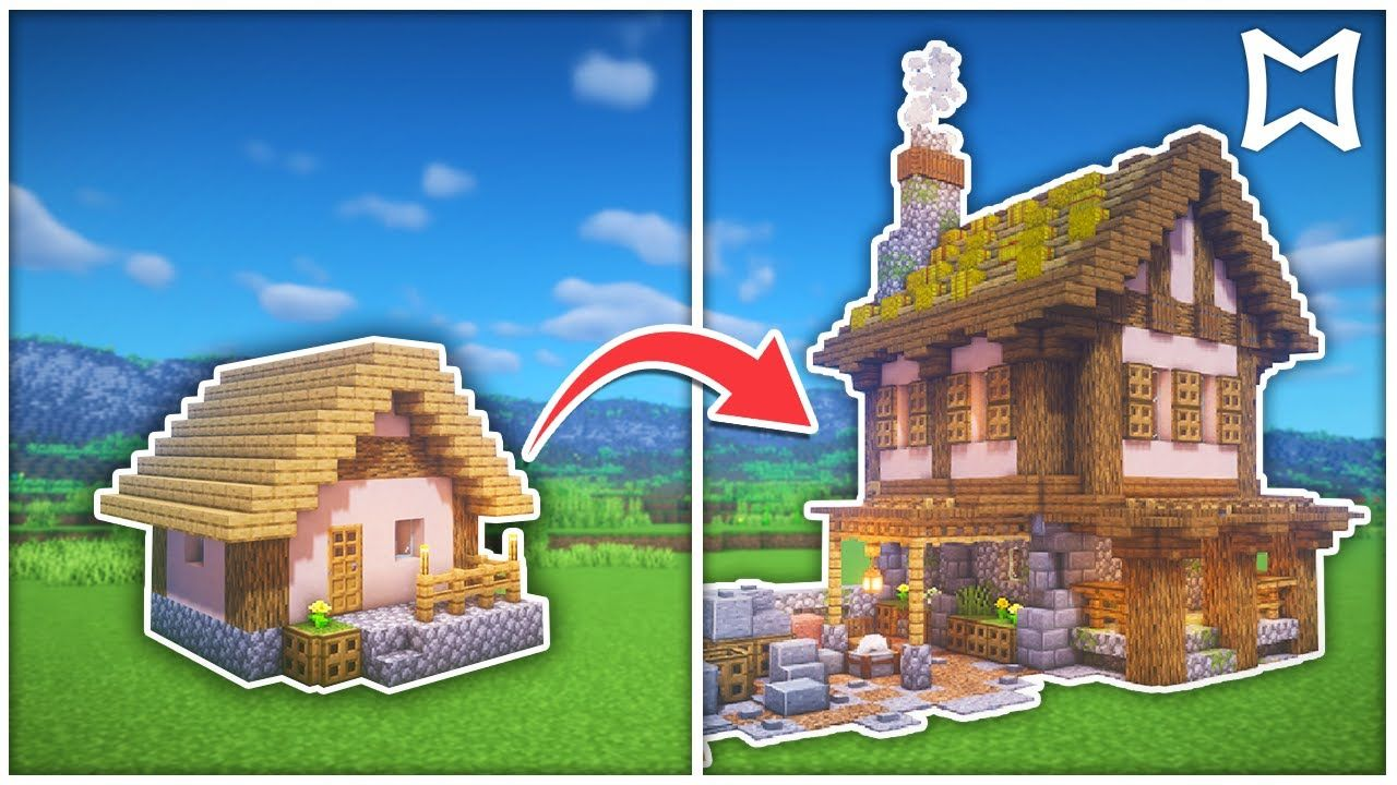 ► How To Transform A Stone Mason Village House In Minecraft