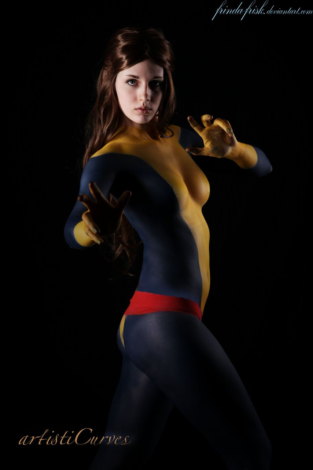 cosplay costumes paint Body